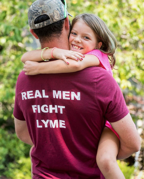 Real Men Fight Lyme